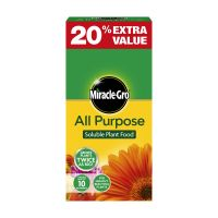 Scotts Miracle Gro Plant Food 1kg 20% Free Decco d34604