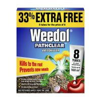 Scotts Weedol Pathclear Conc. Tubes 6+2 free Decco d64745