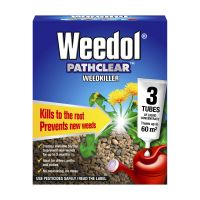 Scotts Weedol Pathclear Concentrate 3 Tubes Decco d64744