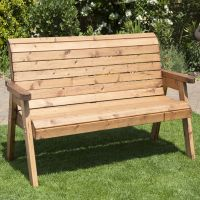 Charles Taylor Traditional Furniture 3 Seater Bench