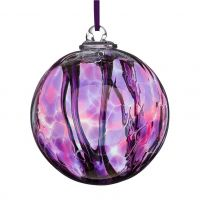 Sienna Glass 10cm Spirit Ball Assorted