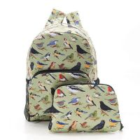 Eco Chic Foldable Back Pack Mixed Design