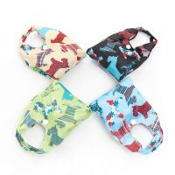 Eco Chic Foldable Shopper Bag Mixed Design