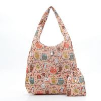 Eco Chic Foldable Shopper Bag Mixed Design