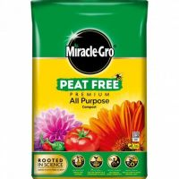 Scotts Miracle Gro Peat Free 50L Decco