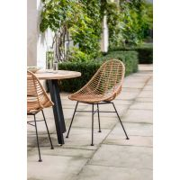 Garden Trading Pair of Hampstead Scoop Chairs