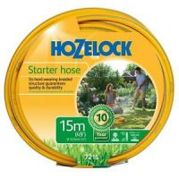 Hozelock Starter Hose 15m Hozelock 7215