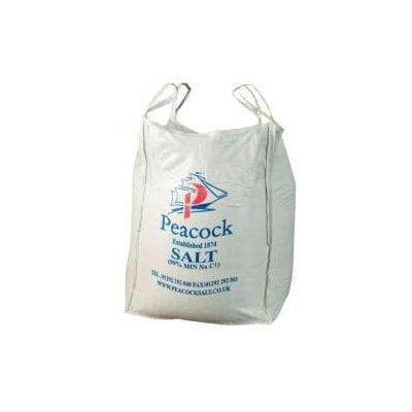 White Deicing Salt Dumpy Bag