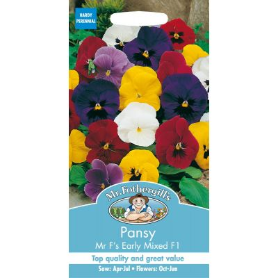 Pansy Mr F's Early Mixed F1