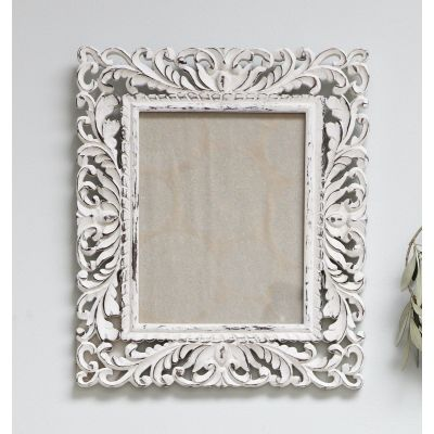 Ornate White Frame, 8x10