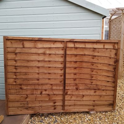 High Lap Fence Panel