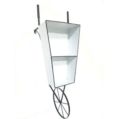 Wheelbarrow Wall Shelf