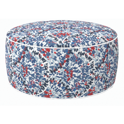 Coral Round Stool