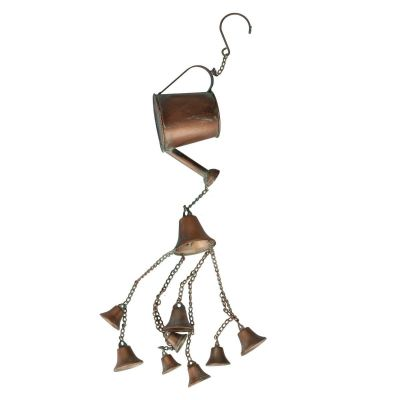 Hanging Watering Can with Chimes