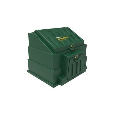 Small Green Coal Bunker which can hold 3 Bags