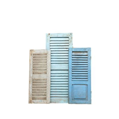Vintage Shutters for Display (Blue)