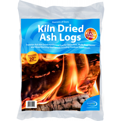Kiln Dried Ash Logs 20 Litre