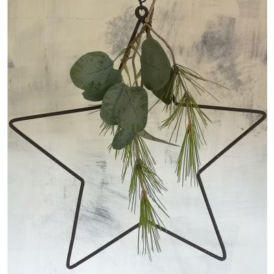 Hanging Florists Star with Chain