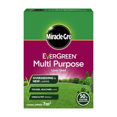 Scotts Evergreen MLTP Grass Seed 7m² Decco d49254