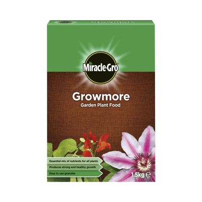 Scotts Miracle Gro Growmore Plant Food 1.5kg Decco d58230