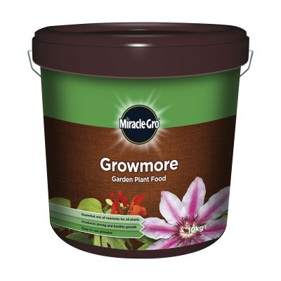 Scotts Miracle Gro Growmore Plant Food 10kg Decco d58232