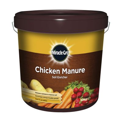 Scotts Miracle Gro Chicken Manure 10kg Decco d 58240