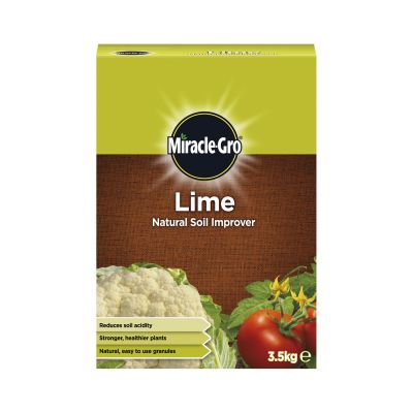 Scotts Miracle Gro Lime Soil Improver 3.5kg Decco d58241