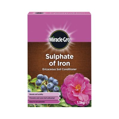 Scotts Miracle Gro Sulphate of Iron 1.5kg Decco 58244