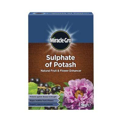 Scotts Miracle Gro Sulphate of Potash 1.5kg Decco d58246