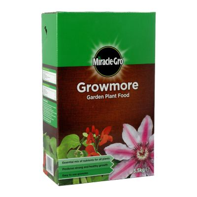 Scotts Miracle Gro Growmore Plant Food 3.5kg Decco d58231