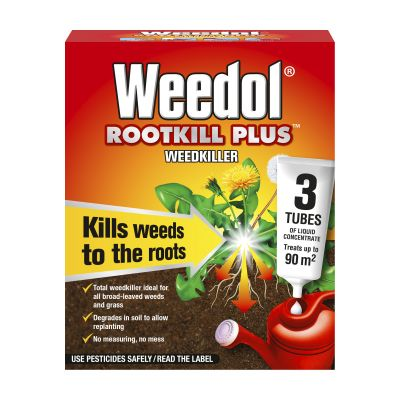 Scotts Weedol Rootkill plus Concentrated 3 Tubes Decco d62600