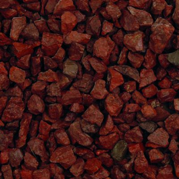 Red Granite Chippings 20mm - 20kg bag