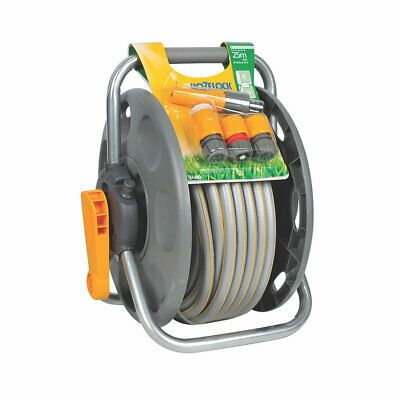 Hozelock 2 in 1 Reel and Hose Set