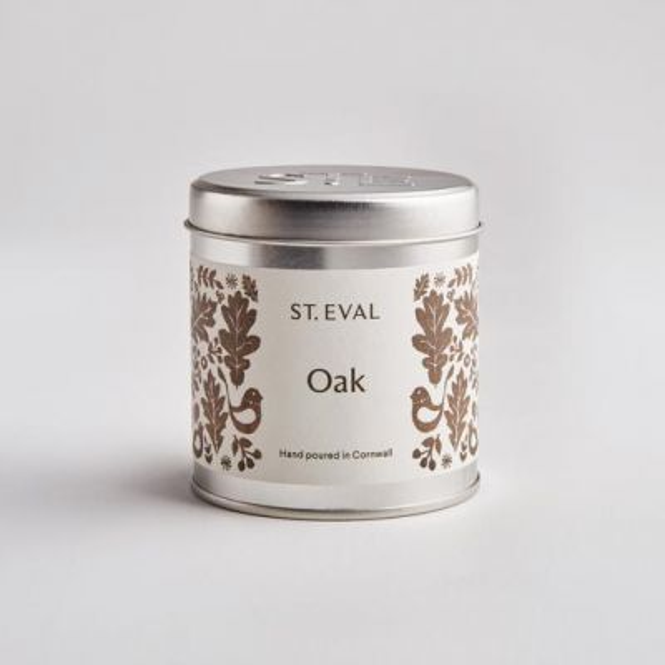 Oak, Folk Scented Tin Candle
