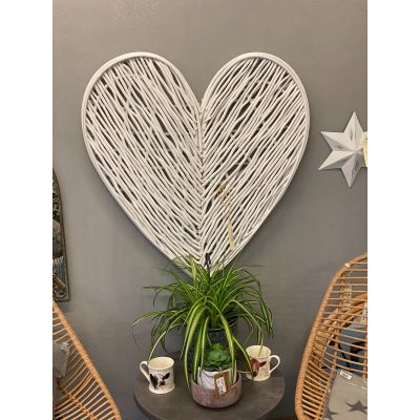 Wicker Heart, 87cm