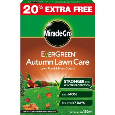 Miracle Gro Autumn Lawn Care 120m2