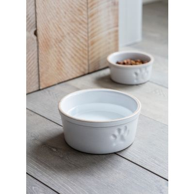 Garden Trading Pet Bowl with Paw Print
