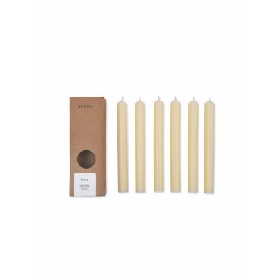 Set of 6 Dinner Candles