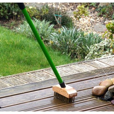 Greenkey Telescopic Decking Brush